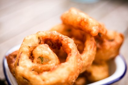 Onion Rings at The Royal Oak Oxford