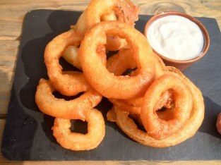 Onion Rings at The Old Frizzle Wimbledon